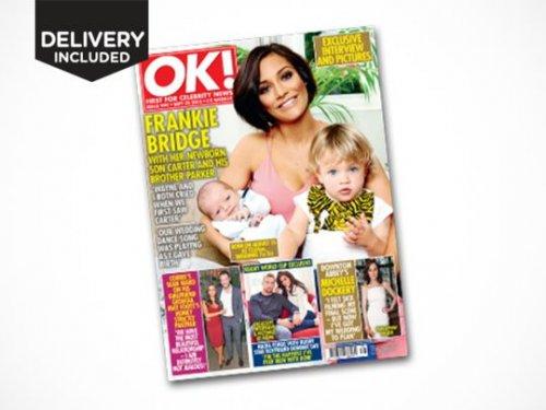 6 Month OK! Magazine Subscription £19 @ livingsocial