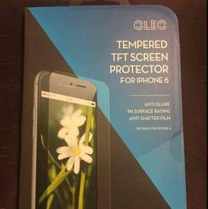 Tempered Glass Screen Protector (iPhone 6) £1 @ Poundworld