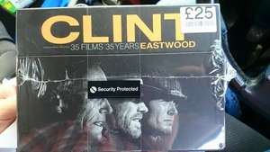 Clint Eastwood 35 Films- 35 years- £25! - 71p a film  at the Head store in Bristol