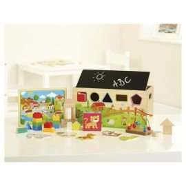 carousel 9 in 1 activity set 10.00 with code @ tesco free click and collect