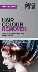Adee Phelan Hair Colour Remover: Light Tones £1.20 @ Superdrug
