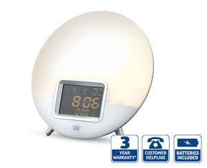 Sunrise Alarm Clock £19.99 @ Aldi Thursday 8th October