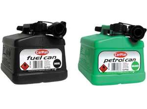 ** Carplan Black & Green Fuel Cans 5L now only £2 instore @ Tesco **