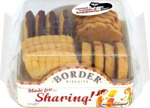 Border Biscuits Sharing Pack (300g) was £3.00 now £2.00 (Rollback Deal) @ Asda