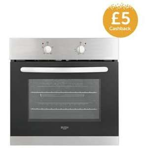 Bush AE6BFS Single Fan Oven- STAINLESS Steel was £139.99 now £109.99 @ Argos