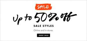 Up to 50% off  Sale + Extra 15% Off with code at Banana Republic