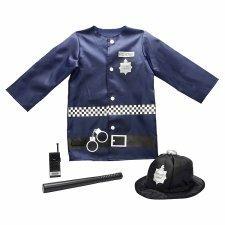 Tesco Preschool Play Policeman Costume £6