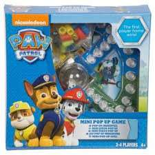 Paw Patrol Mini Pop up Game was £5.00 Now £2.50 @ Tesco with Click & collect