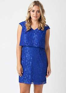 Koko Dress.... Blue or Black Up to size 22. £9 + £3.99 delivery @ clearance365