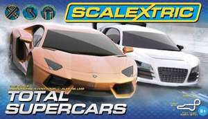 Total Supercars Scalextric £60 @ Asda half price