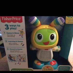 fisher price beat bo toy half price @ sainsburys £19.99
