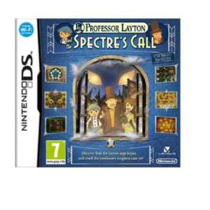 Professor Layton and the Spectre's Call DS game £3.49 @ argos