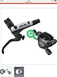 Shimano SLX m675 hydraulic brakes for MTB mountain biking now only £74.95 @ merlin cycles