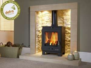 Flavel FCMSB Arundel Black DEFRA Aproved Multifuel Stove £399.99 @ Gas Superstore