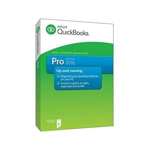 QuickBooks Pro 2016 (PC) £49.99 (was £184.90) @ Amazon.co.uk