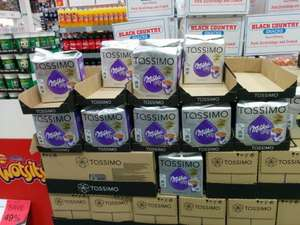 Tassimo Milka Hot Chocolate £2.99 @ JTF
