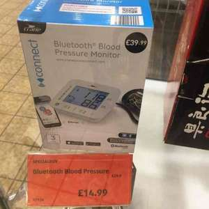 Crane Bluetooth blood pressure monitor £14.99 @ Aldi