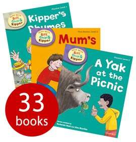 Biff, Chip and Kipper Levels 1-3 - 33 Books (Collection) £16.99 delivered @ The Book People