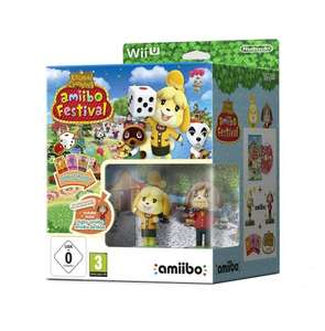 Animal Crossing Amiibo Festival with 2 Amiibo Nintendo Wii U , Cards and Game (preorder) £39.99 @ Amazon