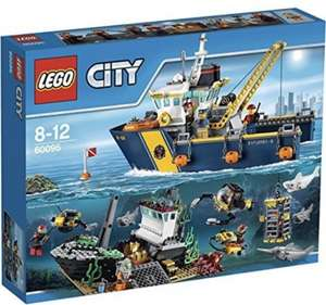 LEGO 60095 City Explorers Deep Sea Exploration Vessel £49.97 @ Amazon UK