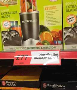 Nutribullet - Trendy Blender. £77 Morrisons in store