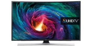Samsung UE48JS8500 8-series 4K 48-inch curved LED TV | FREE delivery £1099.99 from Bespoke Offers (Supplied by Crampton and Moore)