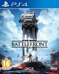 Star Wars: Battlefront on PS4 and Xbox one and free delivery £39.99 @ Zavvi