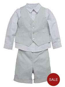Littlewoods - Boys dress shirt, Trousers and Waistcoat Set £13 to £14.50
