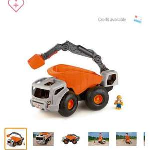 Little Tikes Monster Dirt Digger truck now £8.99 at Argos
