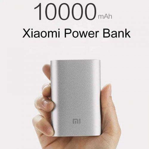 Original Xiaomi Power bank 10000mAh in Silver Free Shipping NOW £7.89 @ Banggood