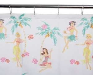 ** Hula Girl Shower Curtain now only £2 @ George (Free CnC) **