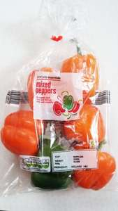 Family Pack of Mixed Peppers (6 pack) 59p @ Aldi