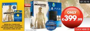 [New Model] Playstation 4 500GB Console Uncharted: The Nathan Drake Collection Bundle + 3 Months PS Plus Membership £293.47 @ Gamestop Ireland