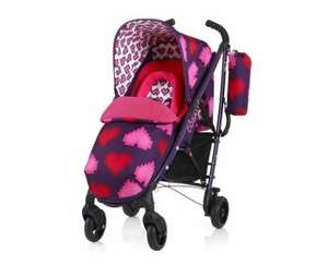 cosatto yo pixel heart pushchair at Pram Centre for £129.99