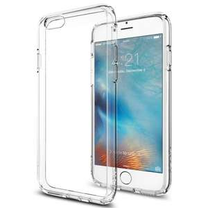 iPhone 6 / 6S Case, Spigen® [Ultra Hybrid] AIR CUSHION [Crystal Clear] Clear back panel + TPU bumper for iPhone 6 / 6S - Crystal Clear (SGP11598) £5.00 @ Amazon/Keep in Case