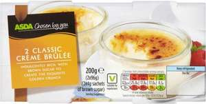 ASDA Chosen by You Crème Brûlée (2 x 100g) was £1.99 now £1.00 (Rollback Deal) @ Asda