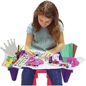 Chad Valley Craft Lap Tray and 1000 Crafts Half Price £9.99 @ Argos (Free C&C)