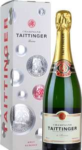 Taittinger Brut Reserve NV Champagne on sale at Tesco, scanning at £18.50 in store (Canary Wharf - advertised £26.99)