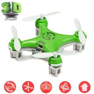Portable 2.4G 4CH 6 Axis Gyro RC Quadcopter with Night Light £10.52 delivered @ GearBest (Various Colours)