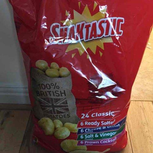 Lidl snack tastic crips £1.89 @ Lidl