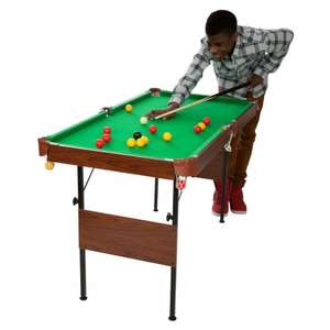 "54"" Pool and Snooker table £5.00 @ Smyths Toys"