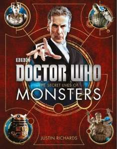 Doctor Who - The Secret Lives Of Monsters (Hardback Book) £6 with free C&C @ WH Smith