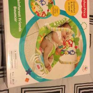 sainsburys baby event clearance : fisher price baby chair for 11.70 /