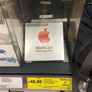 AppleCare for MacBook reduced to clear £40! RRP £199! @ Tesco