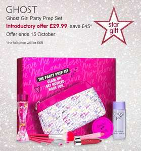 Boots Star Gift Ghost Girl Party Prep Set £29.99 at Boots