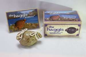Novelty Scottish Haggis Whistle (Gift) (60% Off) Sold by The Post House and Fulfilled by Amazon £5 addon item or £8.99 non prime delivered