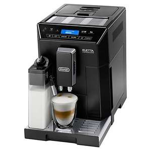 DeLonghi Eletta Cappuccino ECAM44.660.B £580.99 @ John Lewis - - £430.99  when trading in old coffee machine