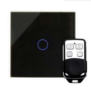 Retrotouch 1 Gang 1 Way LED Switch - Touch/Remote - White and Black @ LED Planet