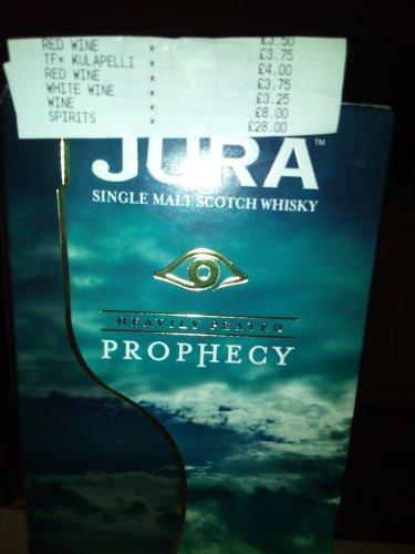 Isle Jura Prophecy £28 tesco instore
