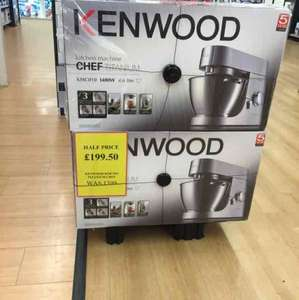 Kenwood kitchen machine chef titanium 1400w including blender, food processor and other attachments £199.50 @ Tesco instore